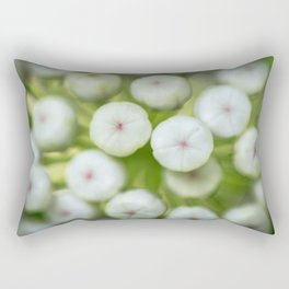 Wht-flowered Milkweed Rectangular Pillow