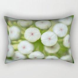 Wht-flowered Milkweed Rectangular Pillow