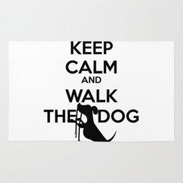 Keep calm and walk th Rug