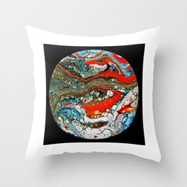 abstract 31 Throw Pillow