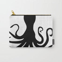 Octopus Silhouette Carry-All Pouch