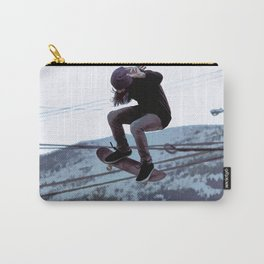High Flying Skateboarder Carry-All Pouch