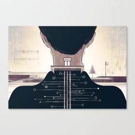 The Space Creator Canvas Print