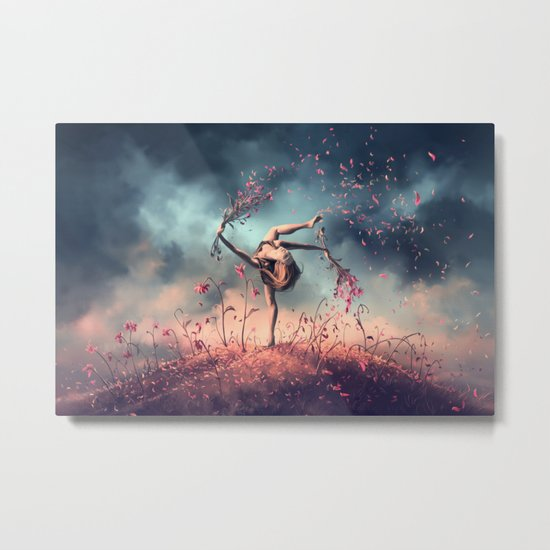 VIRGO from the Dancing Zodiac Metal Print