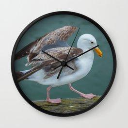 Walking Gull Wall Clock