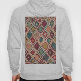 V38 EPIC ANTHROPOLOGIE MOROCCAN CARPET TEXTURE Hoody