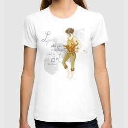 L'amour, c'est un art T-shirt