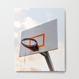 basketball hoop 4 Metal Print
