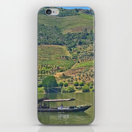 Views of the Douro wine country, off the Douro River, while lunching iPhone Skin