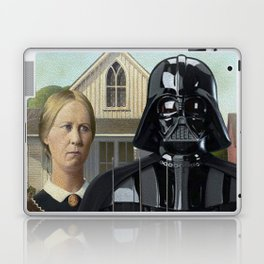 Darth Vader in American Gothic Laptop & iPad Skin