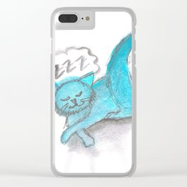ZzZ Clear iPhone Case