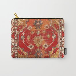 Transylvanian West Anatolian Carpet Print Carry-All Pouch