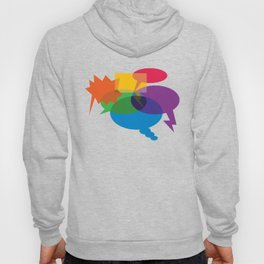 Speech Bubbles Hoody