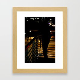 Dark Silhouette  Framed Art Print