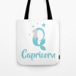 Capricorn Dec 22 - Jan 19 - Earth sign - Zodiac symbols Tote Bag