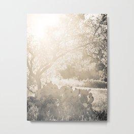 Prickly Flare Metal Print