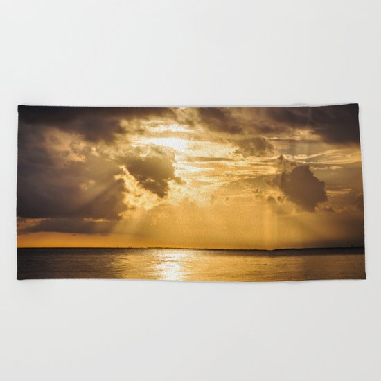Thoughts of You Beach Towel