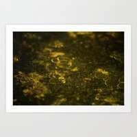 oil Art Prints featuring Oil by MrJane