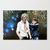 niall horan Canvas Prints featuring Niall Horan by Adrian Tabraue