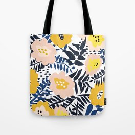 Outdoor: florals matching to design for a happy life Tote Bag
