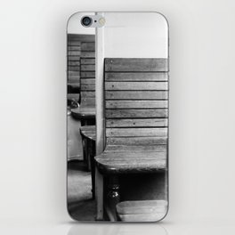 Old train compartment 2 - Altes Zugabteil 2 iPhone Skin
