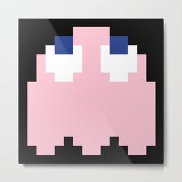 8-Bits & Pieces - Pinky Metal Print
