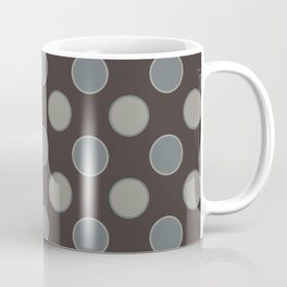 Oatmeal Stout Retro Polka Dot Print Seamless Pattern Coffee Mug
