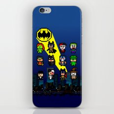 Gotham Heroes and Villains iPhone & iPod Skin