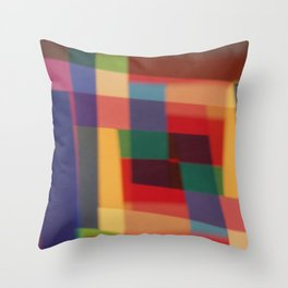 Colored blur background 5 Throw Pillow