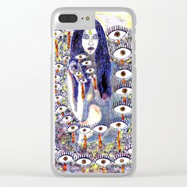 Who Sees you Clear iPhone Case