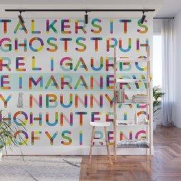 WORD SEARCH WEIMARANER Wall Mural
