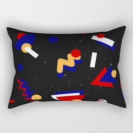 Memphis geometric pattern #2 Rectangular Pillow