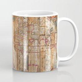 Reclaimed Wood Map Coffee Mug