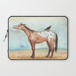 Sky and Crow Laptop Sleeve