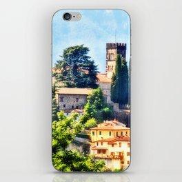Duomo of Barga (color) iPhone Skin