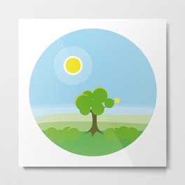 4 Seasons - Spring Metal Print