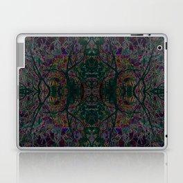 Emerald tree geometry VIII Laptop & iPad Skin