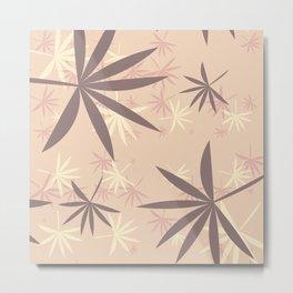 Leaves 4c Metal Print