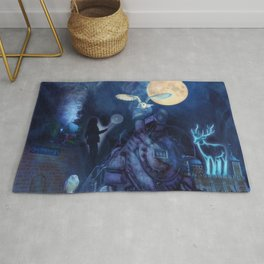 The Journey to the Magic Academy Rug