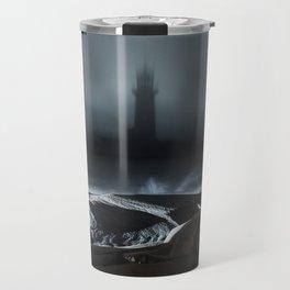 Projecting Light Travel Mug
