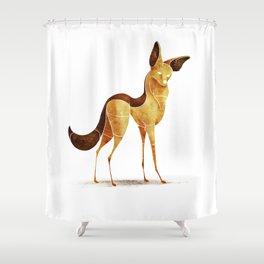 jackal Shower Curtain