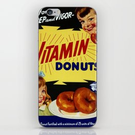 Vitamin Donuts iPhone Skin