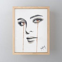 La Femme de Mon Ami II Framed Mini Art Print