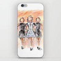 irish iPhone & iPod Skins featuring Irish Dancers by Tina Mooney
