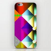 metallic iPhone & iPod Skins featuring Metallic by dogooder