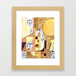 Inspired by Piacsso Framed Art Print