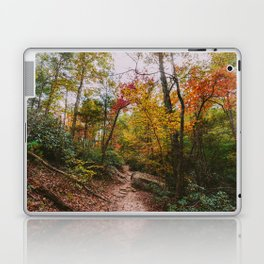 Kentucky Autumn at Natural Bridge State Park Laptop & iPad Skin