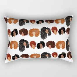 Natural Hair Girls Rectangular Pillow