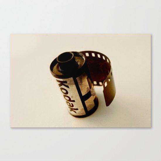 The last kodak film Canvas Print