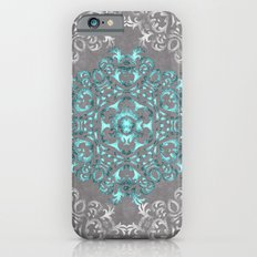 Mandala Pattern with Glitters Slim Case iPhone 6